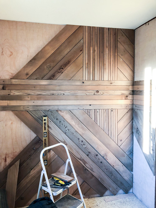 Geometric-Wood-Wall-Progress-Shot