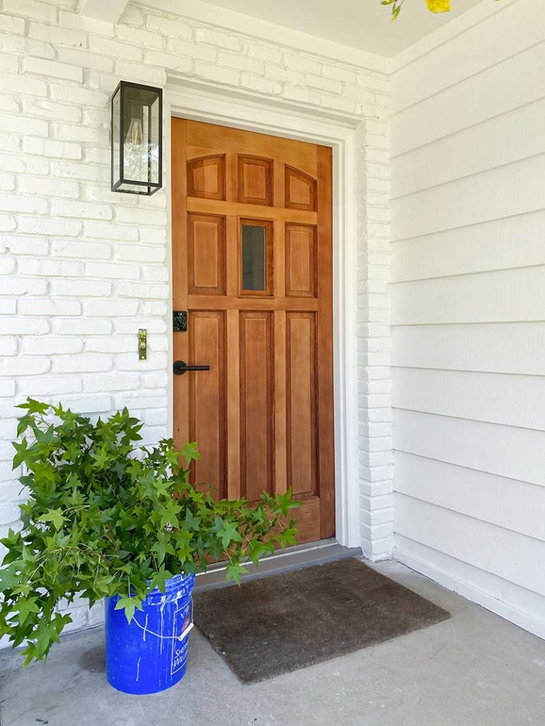 Painting-exterior-house-process-front-door-after